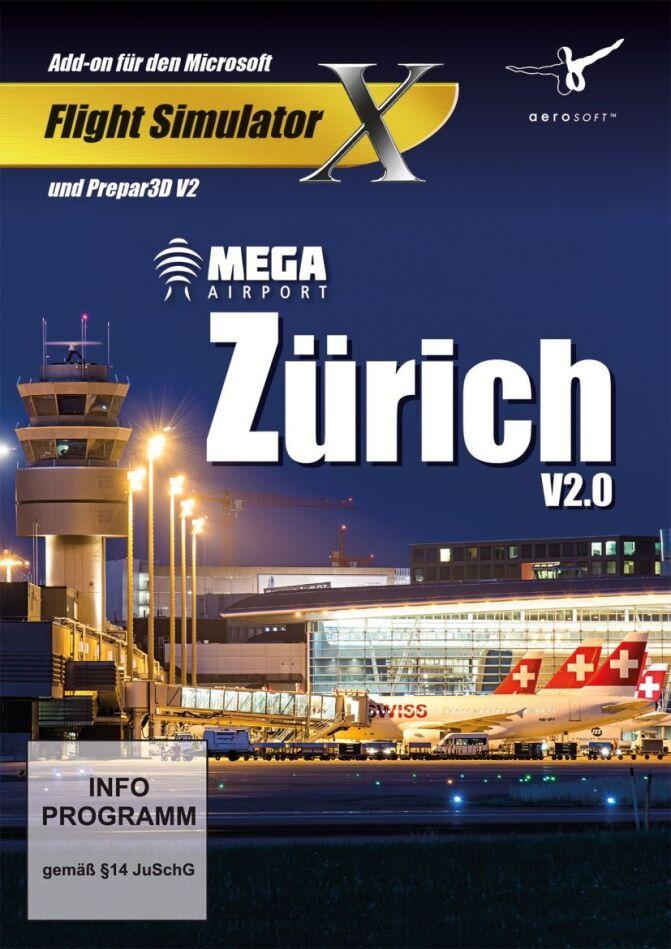 Zürich Mega Airport V 2.0 für FSX und Prepar3D V2 [Add-On]