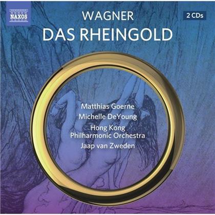Matthias Goerne, Michelle DeYoung, Richard Wagner (1813-1883), Jaap van Zweden & Hong Kong Philharmonic Orchestra - Das Rheingold (2 CDs)
