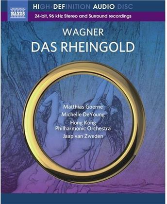 Matthias Goerne, Michelle DeYoung, Kim Begley, Jaap van Zweden & Hong Kong Philharmonic Orchestra - Das Rheingold - Blu-ray Ony!!!