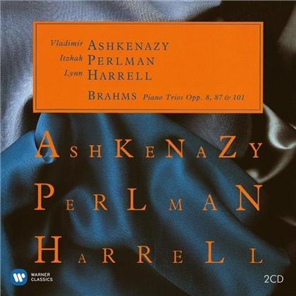 Johannes Brahms (1833-1897), Itzhak Perlman, Lynn Harrell & Vladimir Ashkenazy - Klaviertrios No.1-3 - opp. 8, 87 & 101 - ITZHAK PERLMAN EDITION 51 (2 CDs)