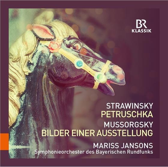 Igor Strawinsky (1882-1971), Modest Mussorgsky (1839-1881), Mariss Jansons & Symphonieorchester des Bayerischen Rundfunks - Petruschka, Bilder Einer Ausstellung