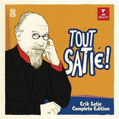 Aldo Ciccolini, Alexandre Tharaud, Nicolai Gedda, Michel Plasson & Eric Satie (1866-1925) - Tout Satie! Complete Works (10 CDs)