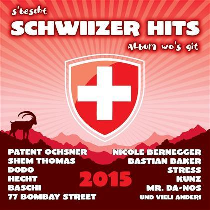 S'bescht Schwiizer Hits Album Wo's Git - Various 2015