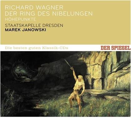 Richard Wagner (1813-1883), Marek Janowski & Staatkapelle Dresden - Der Ring Des Nibelungen (Höhepunkte) - Der Spiegel: Die Besten Der Guten Klassik-CD's