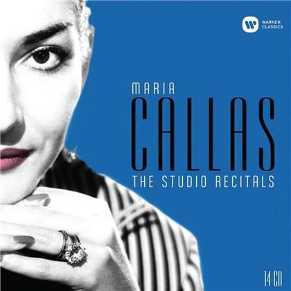 Maria Callas - Studio Recitals - Remastered 2014 (Remastered, 13 CDs)