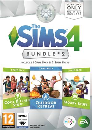 The Sims 4 Bundle 2 (Coole Küchen + Grusel + Outdoor)
