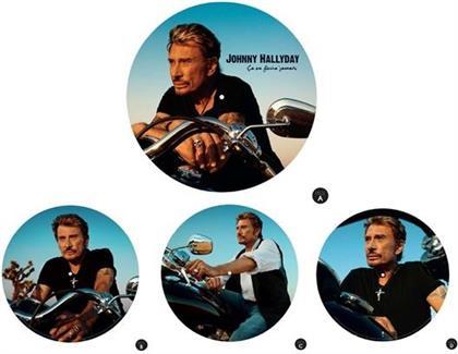 Johnny Hallyday - Ca Ne Finira Jamais (Picture Disc, 2 LPs)