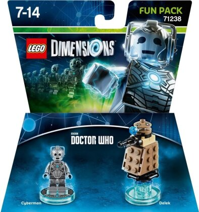 LEGO Dimensions Fun Pack Doktor Who Cyberman