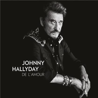 Johnny Hallyday - De L'Amour (Collectors Edition, CD + DVD)