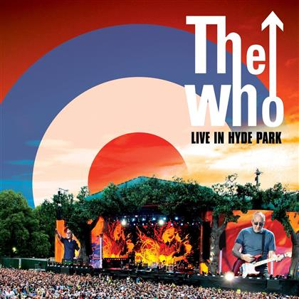 The Who - Live In Hyde Park (Digipack, 2 CDs + Blu-ray)
