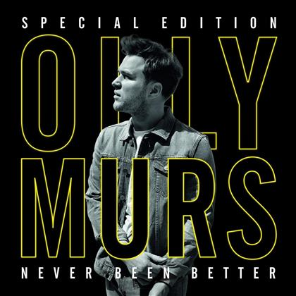 Olly Murs - Never Been Better (Special Edition, CD + DVD)