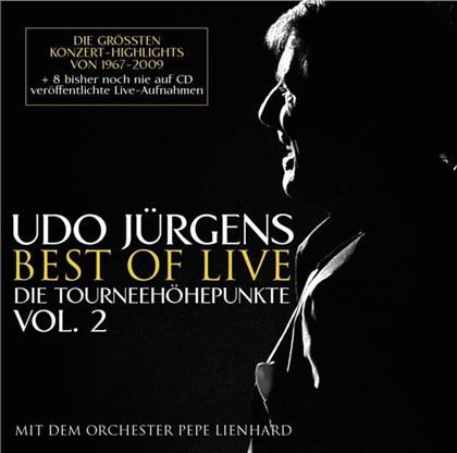 Udo Jürgens - Best Of Live - Die Tourneehöhepunkte Vol. 2 (2 CDs)