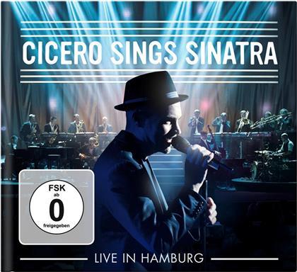 Roger Cicero - Cicero Sings Sinatra - Live In Hamburg (Limited Edition, CD + DVD)