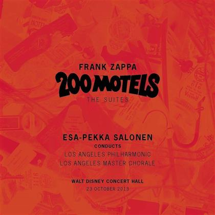 Los Angeles Philharmonic, Frank Zappa & Esa-Pekka Salonen (*1958) - 200 Motels (2 CDs)