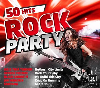 Rock Party - 50 Hits (3 CDs)