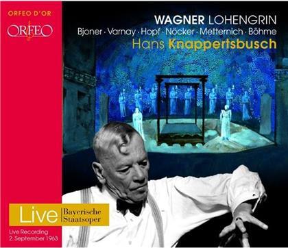 Kurt Böhme, Hans Hopf, Ingrid Bjoner, Hans Günther Nöcker, Astrid Varnay, … - Lohengrin - München 1963 (3 CDs)