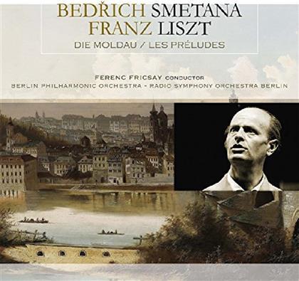 Friedrich Smetana (1824-1884) & Franz Liszt (1811-1886) - Die Moldau / Les Preludes (LP)