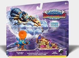 Skylanders SuperChargers Dual Pack 3 (Big Bubble Pop Fizz, Soda Skimmer)