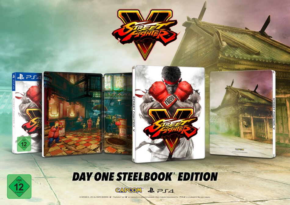 Street Fighter V (Steelbook Edition)