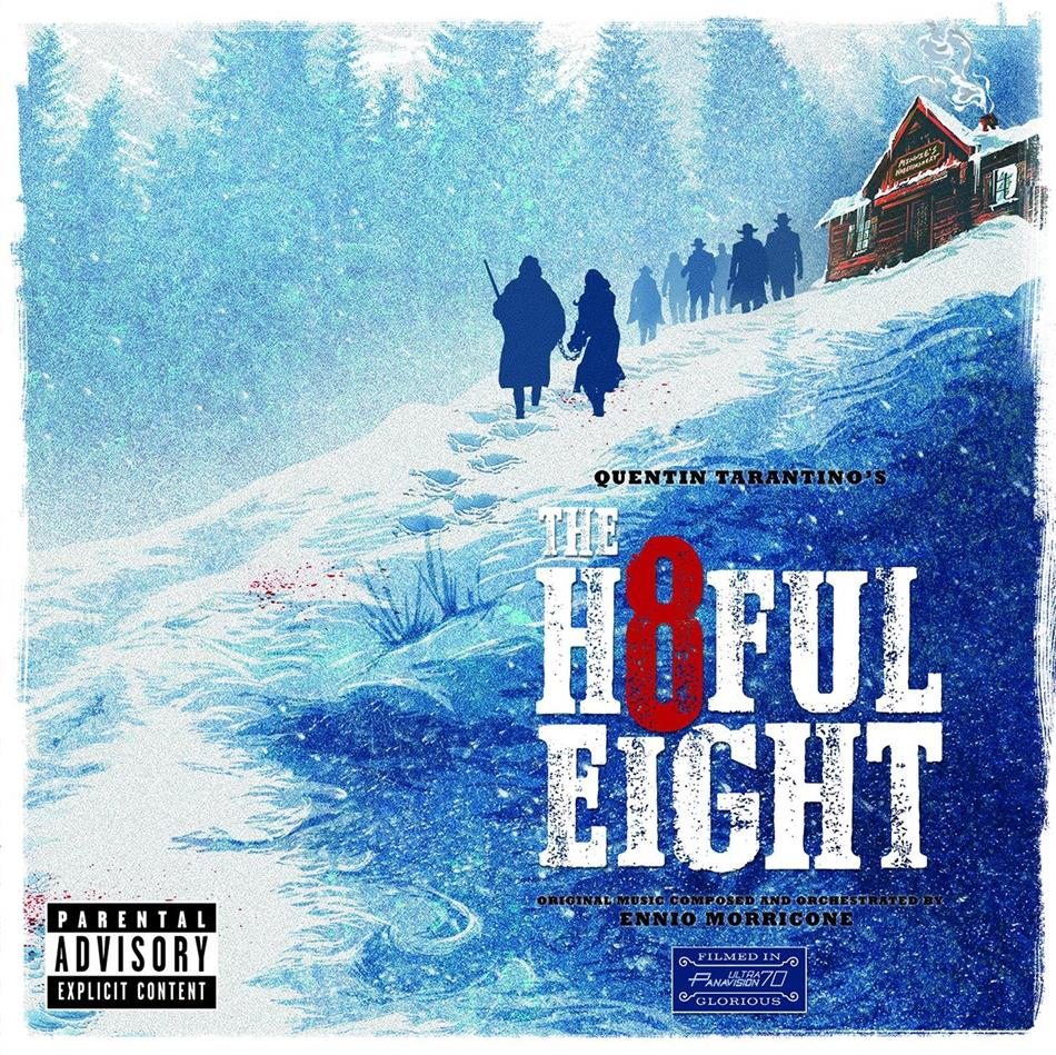 Ennio Morricone (1928-2020) - The Hateful Eight (Quentin Tarantino) - OST (2 LPs)
