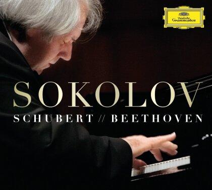 Franz Schubert (1797-1828), Ludwig van Beethoven (1770-1827) & Grigory Sokolov - Schubert & Beethoven (2 CDs)