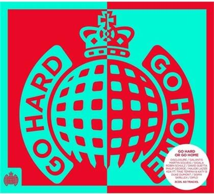 Go Hard Or Go Home - Various - Ministry Of Sound UK (3 CDs)