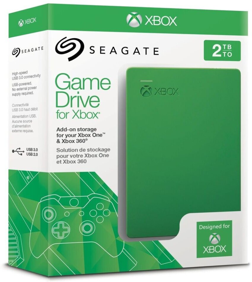 Game Drive for Xbox One / Xbox 360 2 TB