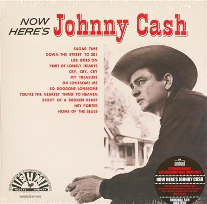 Johnny Cash - Now Here's Johnny Cash - Sundazed Music, Red Vinyl (Colored, LP)