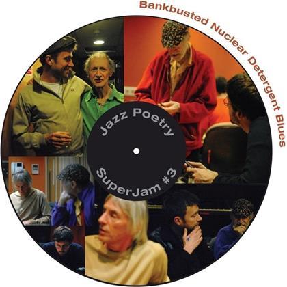 Michael Horovitz, Damon Albarn (Blur/Gorillaz) & Graham Coxon (Blur) - Bankbusted Nuclear Detergent Blues (LP)