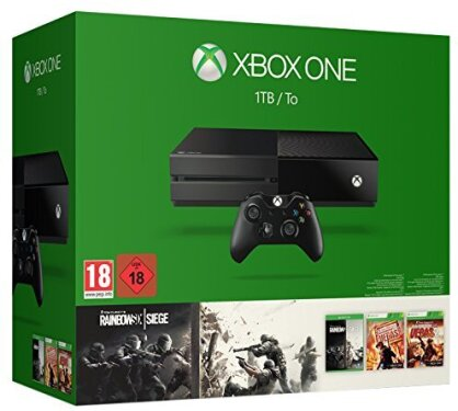 XBOX ONE Console 1 TB HDD - Tom Clancy's Rainbow Six: Siege Bundle