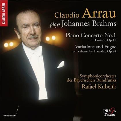 Johannes Brahms (1833-1897), Rafael Kubelik, Claudio Arrau & Symphonieorchester des Bayerischen Rundfunks - Piano Concerto No.1/ Variations And Fugue On A Theme By Haendel op. 24 (Limited Edition, SACD)