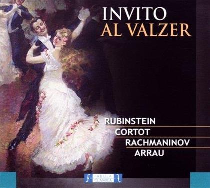 S, Carl Maria von Weber (1786-1826), Grunenfeld Alfred, Franz Schubert (1797-1828), Franz Liszt (1811-1886), … - Invito Al Valzer