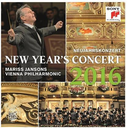 Wiener Philharmoniker & Mariss Jansons - Neujahrskonzert 2016 / New Year's Concert 2016 (3 LPs)