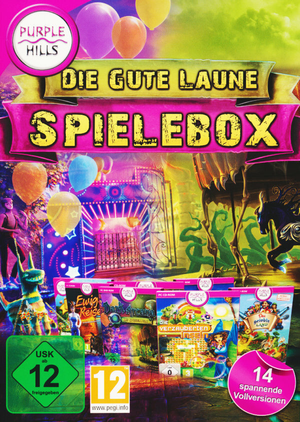 Gute Laune Spielebox