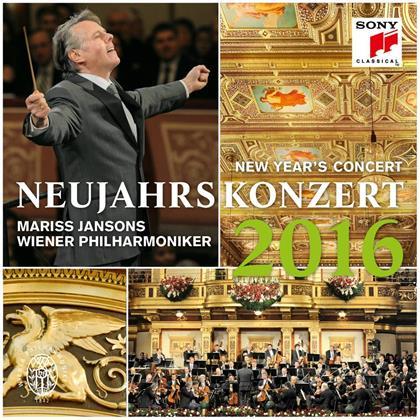 Wiener Philharmoniker & Mariss Jansons - Neujahrskonzert 2016 - New Year's Concert 2016 (Japan Edition, 2 CDs)
