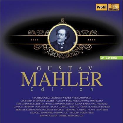 Gustav Mahler (1860-1911) - Gustav Mahler Edition (21 CDs)