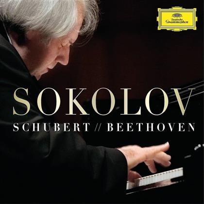 Franz Schubert (1797-1828), Ludwig van Beethoven (1770-1827) & Grigory Sokolov - Schubert & Beethoven (3 LPs)