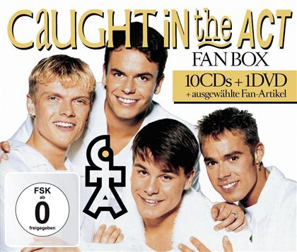 Caught In The Act - Deluxe Box (10 CDs + DVD)
