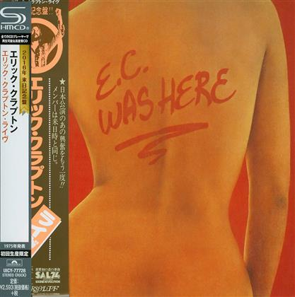 Eric Clapton - E.C. Was Here (Reissue, Limited Edition)
