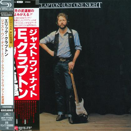 Eric Clapton - Just One Night - Limited Edition,Reissue (2 CDs)