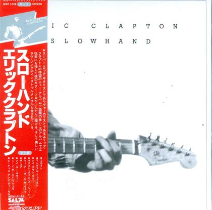Eric Clapton - Slowhand - Limited Edition,Reissue (Japan Edition)