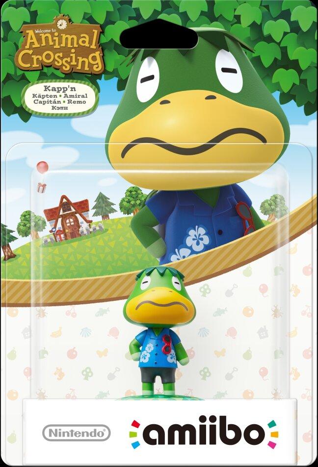 Amiibo Animal Crossing Käpten
