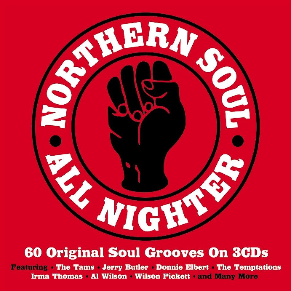 Northern Soul All Nighter - Various 2016 (3 CDs)