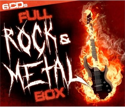 Full Rock & Metal Box (6 CDs)