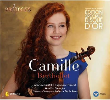 Antonio Vivaldi (1678-1741), Astor Piazzolla (1921-1992), Sarasate,Jukka-Pekka & Camille Berthollet - Camille - Prodiges - Edition Spéciale Disque D'Or