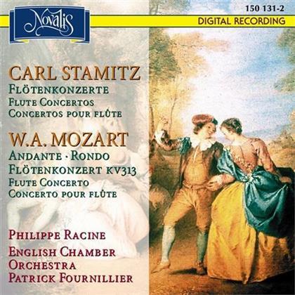 English Chamber Orchestra, Carl Philipp Stamitz (1745-1801), Wolfgang Amadeus Mozart (1756-1791), Patrick Fournillier & Philippe Racine - Konzerte für Flöte und Orchester, Andante KV315 , Rondo KV373