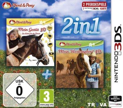 2in1 Mein Gestüt 3D und Westernpferd 3D