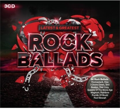 Rock Ballads - Latest & Greatest (3 CDs)
