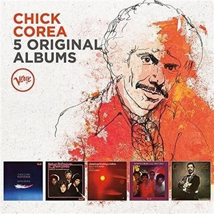 Chick Corea - 5 Original Albums (Limited Edition, 5 CDs)