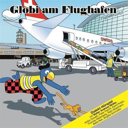 Globi - Am Flughafen